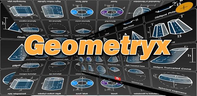 تنزيل تطبيق Geometryx: Geometry  Calculator  آلة حاسبة هندسية لنظام الاندرويد