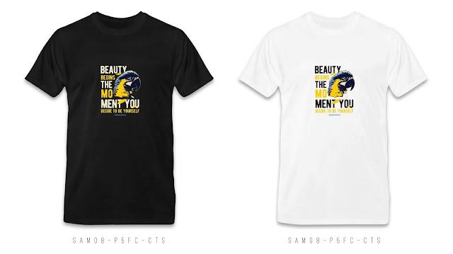 SAM08-P4FC-CTS Animal T Shirt Design, Custom T Shirt Printing