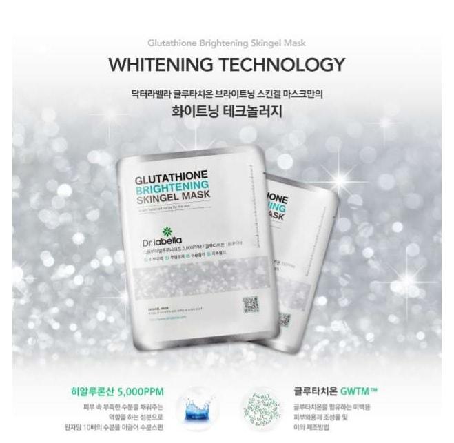 Price: Dr. labella Glutathione Brightening Skingel Mask, 250ml