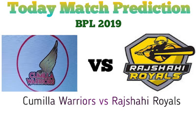 Cumilla Warriors vs Rajshahi Royals Dream11 Today Match Prediction, Pitch Report, Fantasy Cricket Tips & Playing XI Updates, 20th Match, BPL 2019