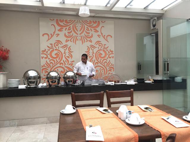 la sagrita hotel delhi breakfast