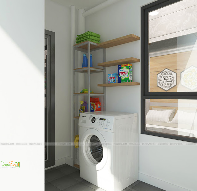 Thiết kế và thi công nội thất căn hộ chung cư Celadon City quận Tân Phú - Logia