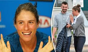 Photo Collage Of Johanna Konta And Her Boyfriend Wade Jackson