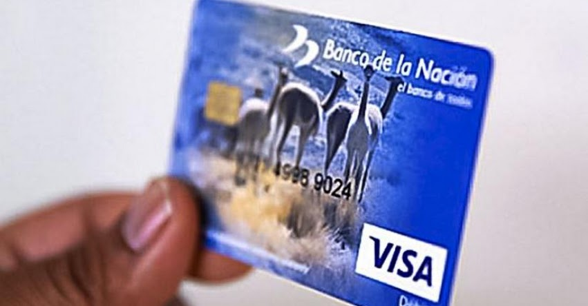 Banco de la Nación extiende hasta este 31 de marzo la vigencia de tarjetas de débito vencidas