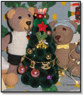 ein Weihnachtsbaum für Bärenkinder