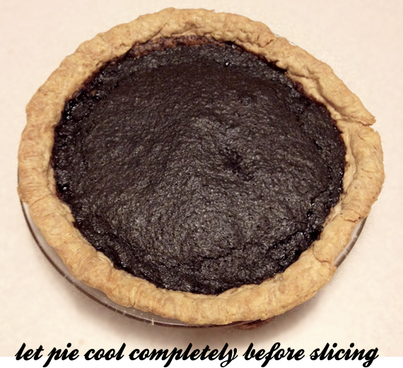 Minny's Chocolate Pie Recipe