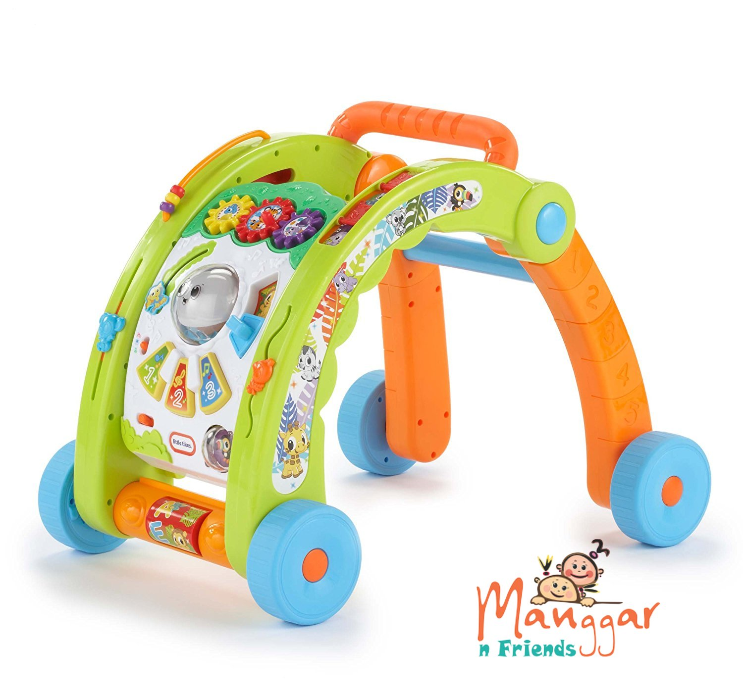 play with the Light n Go series of toys designed to use light to inspire your baby to moving The 3 in 1 Activity Walker is a walker standing