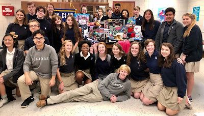 Montgomery Catholic Key Club Members Give Back to the Community 1