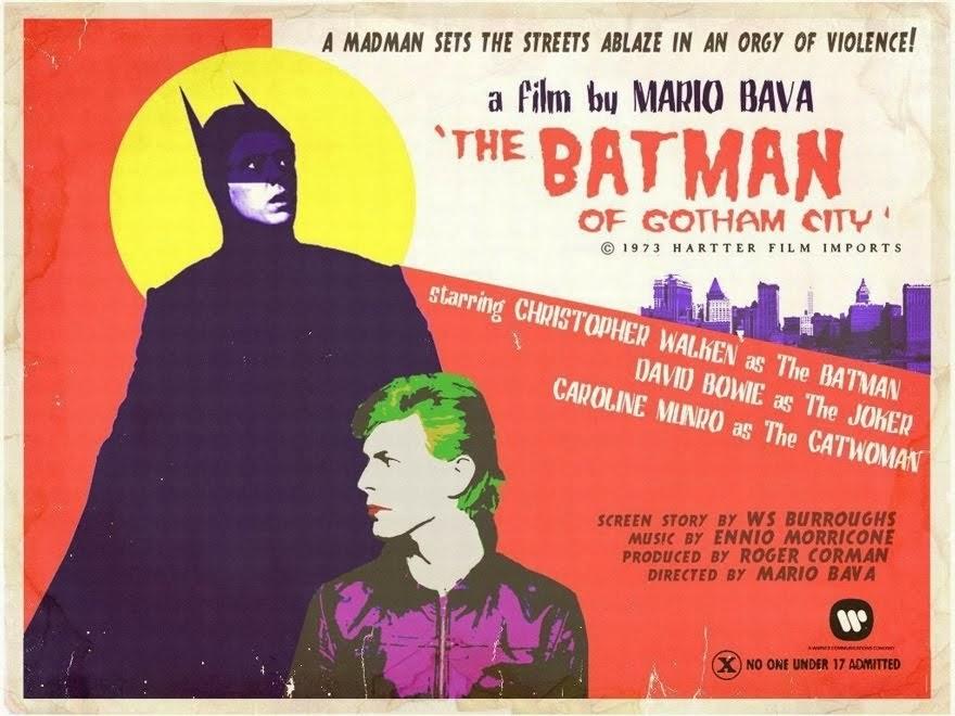 Christopher Walken Is Batman