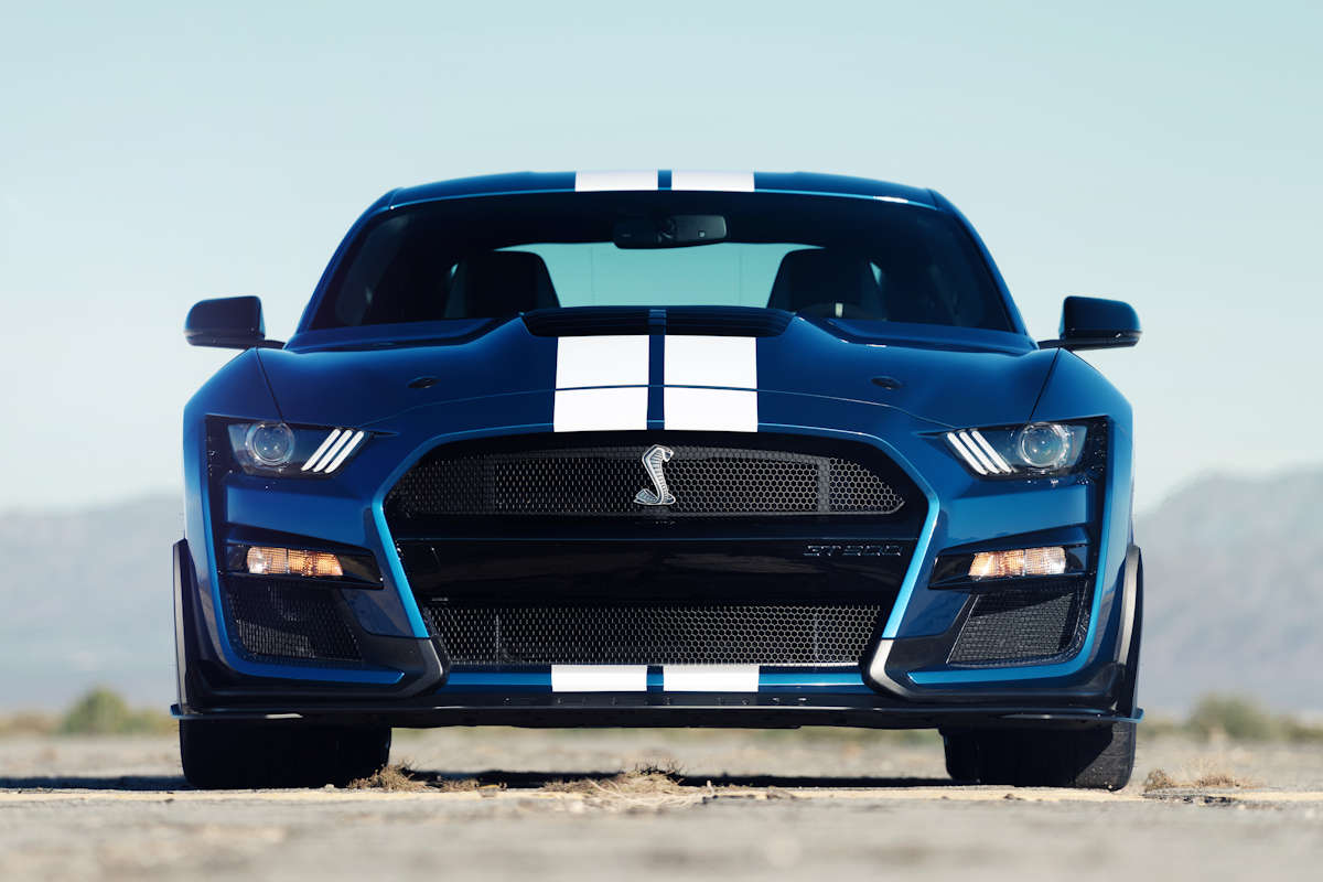 American muscle cars remain at full swing with ford showing off the all new 2020 shelby gt500 the quickest most high performance ford mustang ever