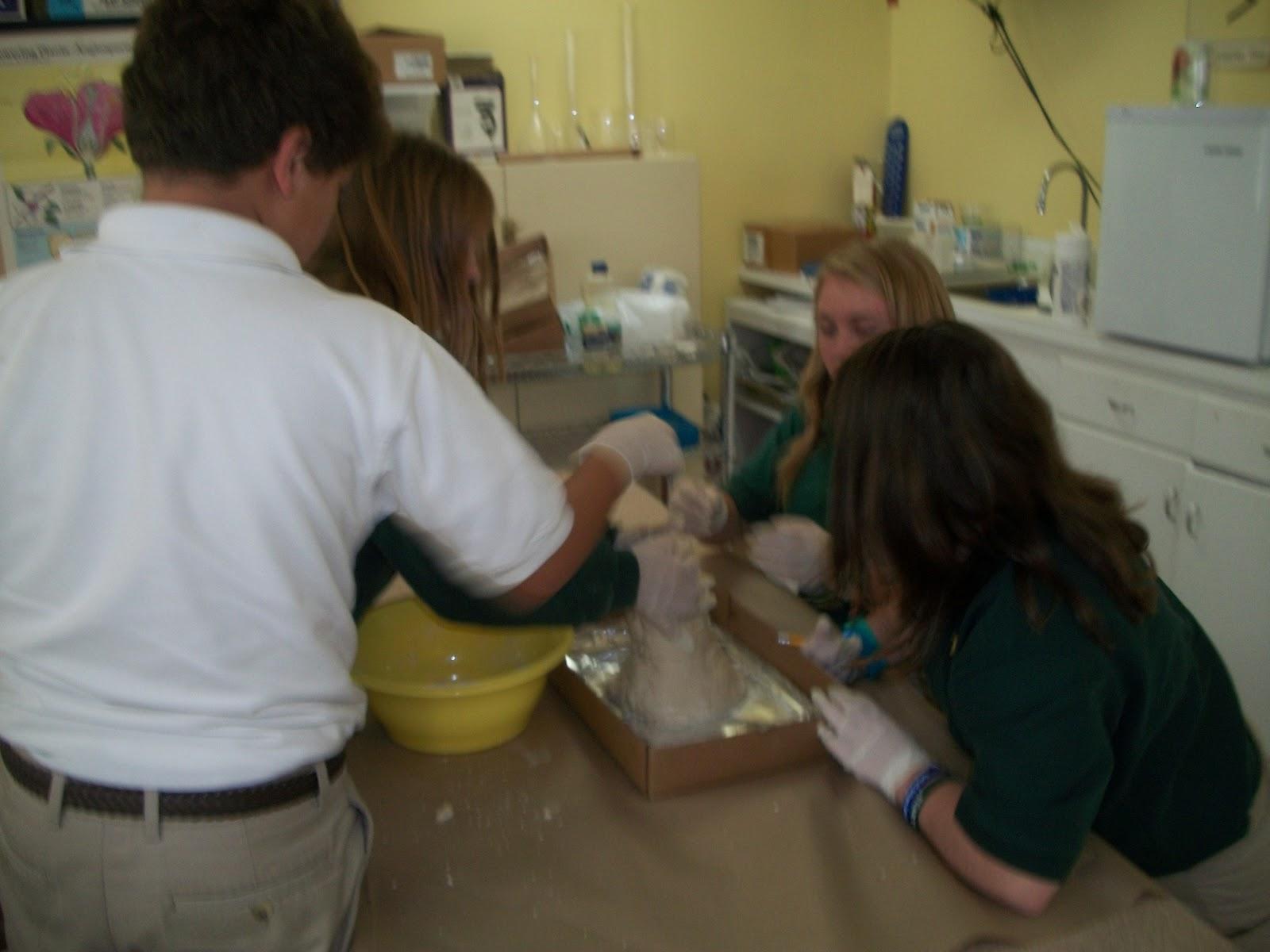 Math Science Lab Sixth Grade Volcano Project