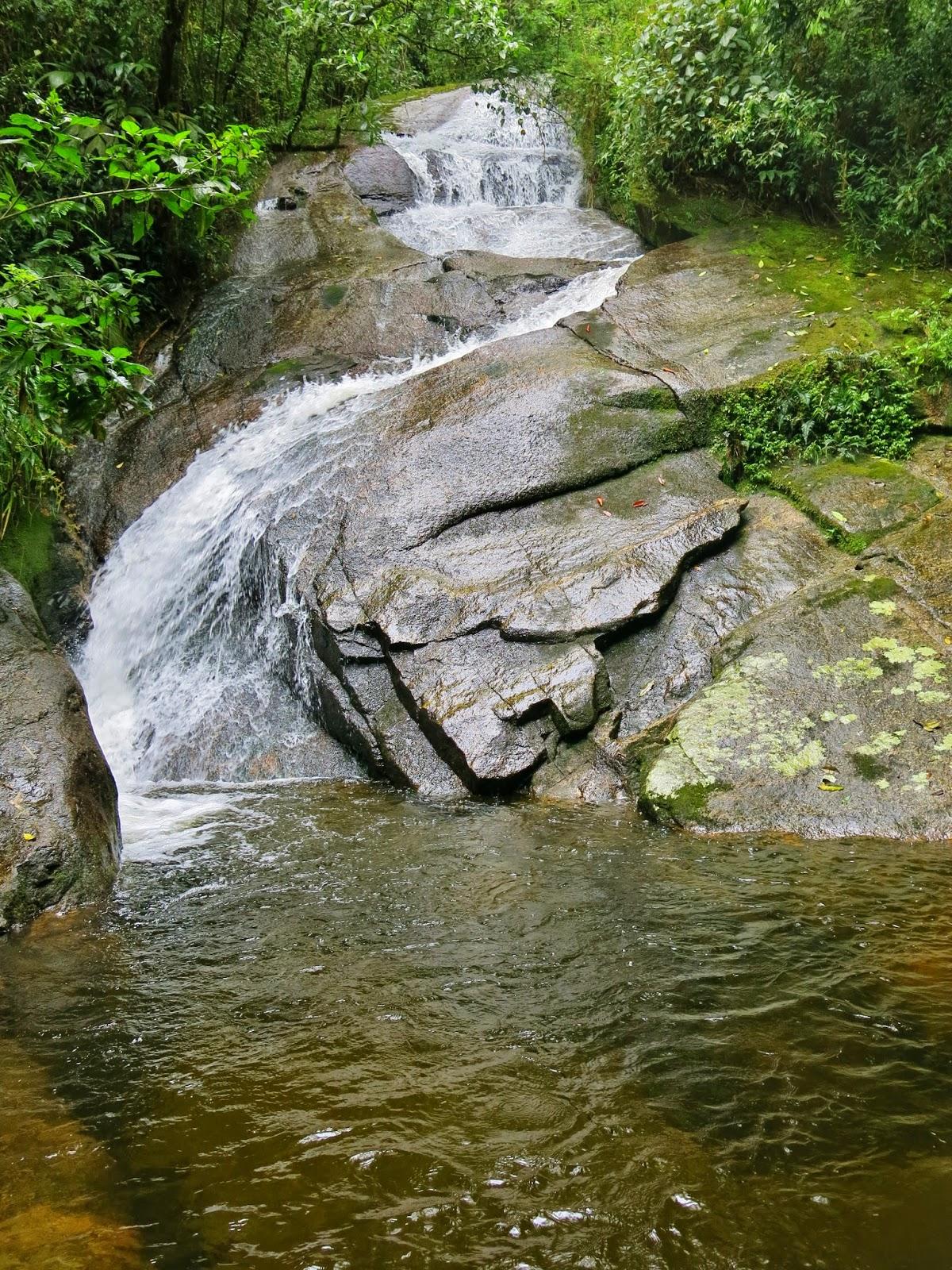 Cachoeira do Açude, mais uma cachoeira no Vale do Alcantilado em Visconde de Mauá.