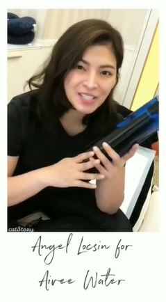 Angel Locsin Recommends Aivee Water! Find Out Why!