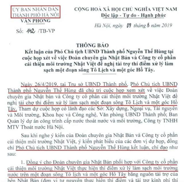Sự dối trá của CT TP Hà Nội Nguyễn Đức Chung làm xấu hình ảnh của đất nước Việt Nam trên Thế Giới?