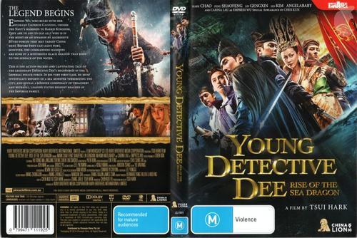 Jovem Detetive Dee: Ascensão do Dragão do Mar Torrent - BluRay Rip 720p e 1080p Dual Áudio 5.1 (2016)