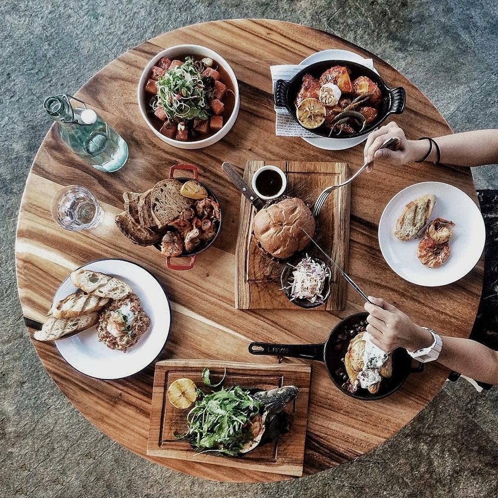 Dubai Food flatlay