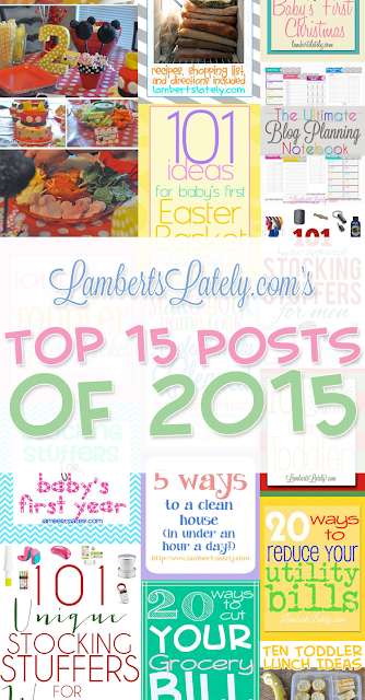 Top 15 Posts of 2015 from LambertsLately.com