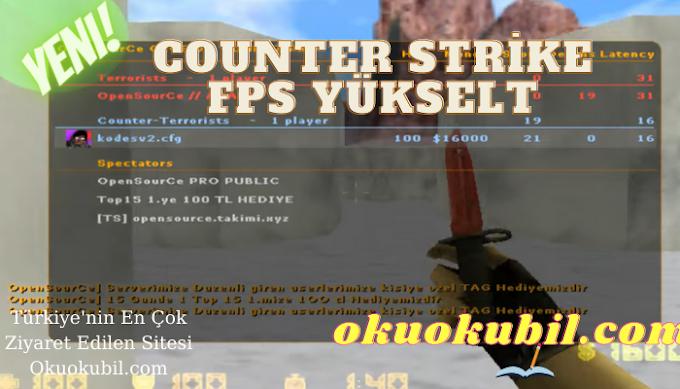 Counter Strike 1.6 Cfg v2 FPS En yüksek, Takma İsim 2021