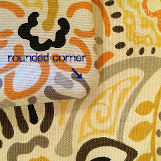 print fabric on pillow