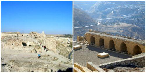 Giordania il castello di Karak