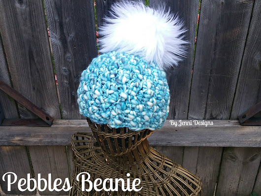 Free Crochet Pattern: Women's Pebbles Beanie Hat