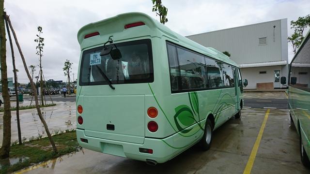 Mua xe khách 29 chỗ Thaco Fuso tại Hải Phòng ở đâu giá tốt nhất