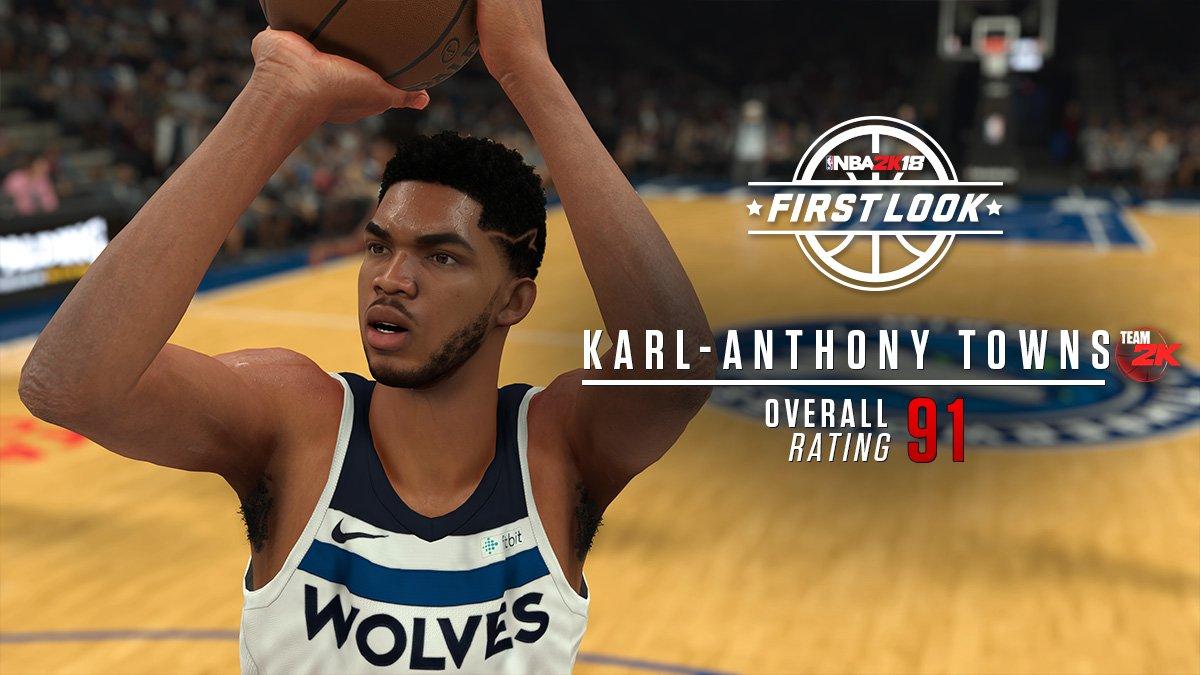7f49ad676341 NBA 2K18 Screenshots   Ratings  Karl-Anthony Towns