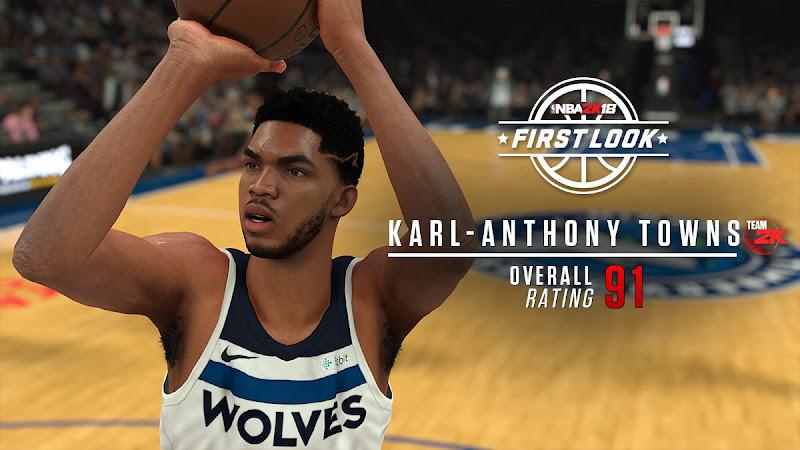 NBA 2K18 KAT