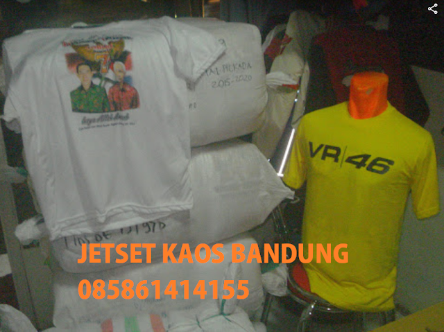 Pusat Tempat Buat Kaos sablon Murah Bandung