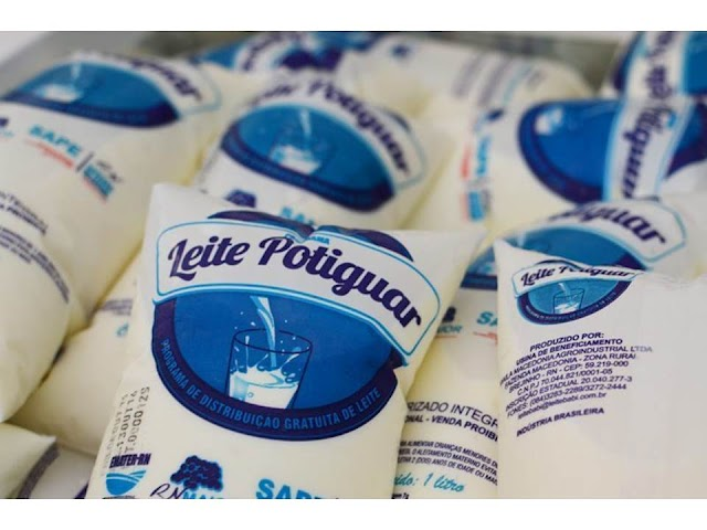 Secretaria do Trabalho e Assistência Social distribui leite para famílias carentes