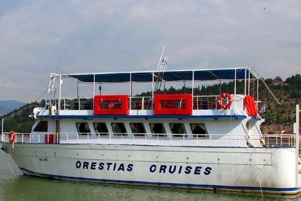 """Δρομολόγια τουριστικού σκάφους """"ΟΡΕΣΤΕΙΑΣ"""""""