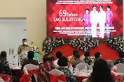 Gubernur Olly Seampaikan Pentingnya Kerjasama Pemerintah, Gereja dan Masyarakat di HUT ke-69 SAG Sulutteng