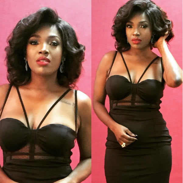 Annie Idibia in sultry photos for campaign