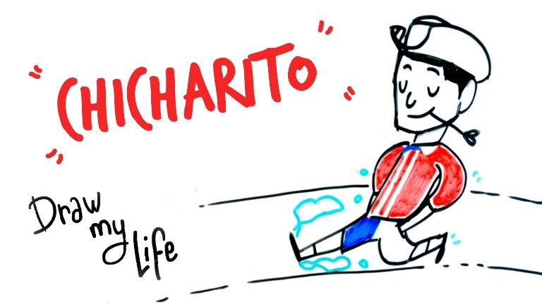 Chicharito Hernández en Draw My Life.