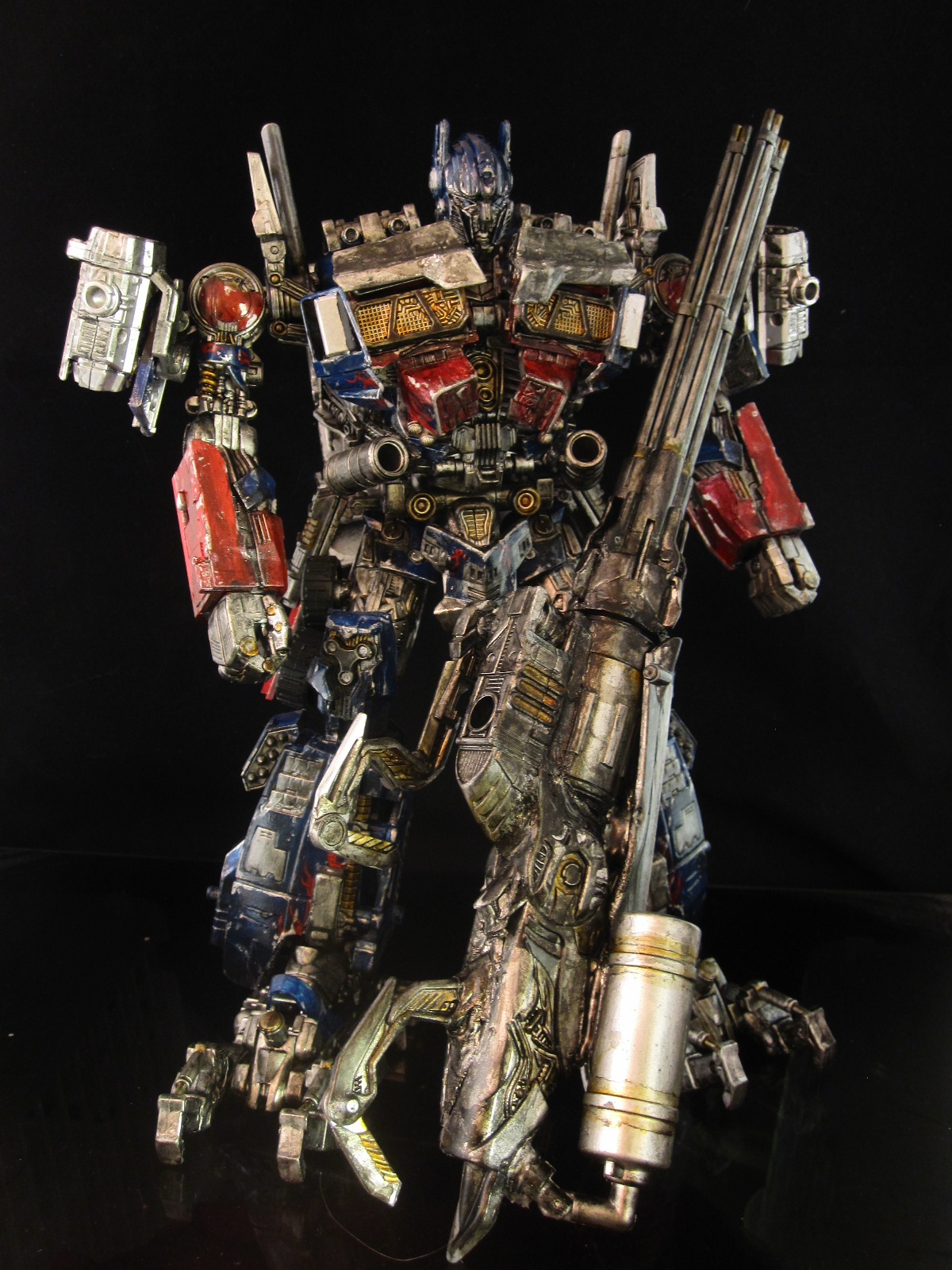 Optimus prime transformers leader class heavy armor prime ...