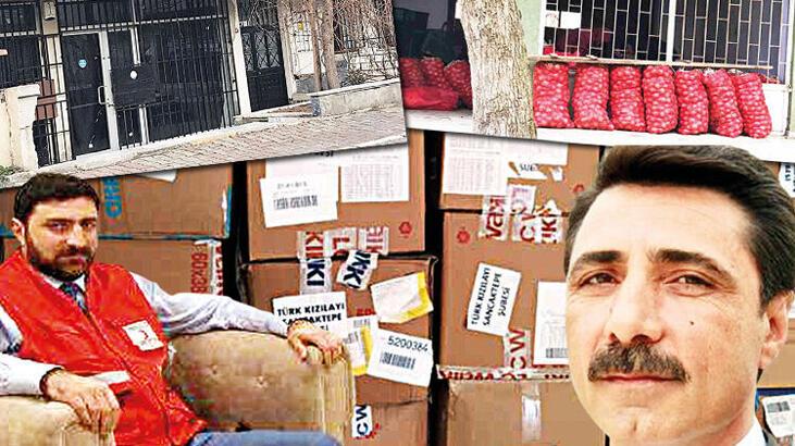 Eski Sancaktepe Kızılay Koordinatörü yardımları pazarda satmış!