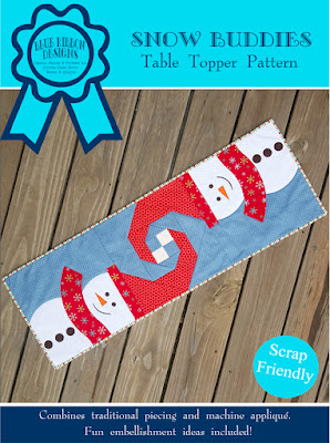 Snow Buddies - an original quilt pattern by Blue Ribbon Designs