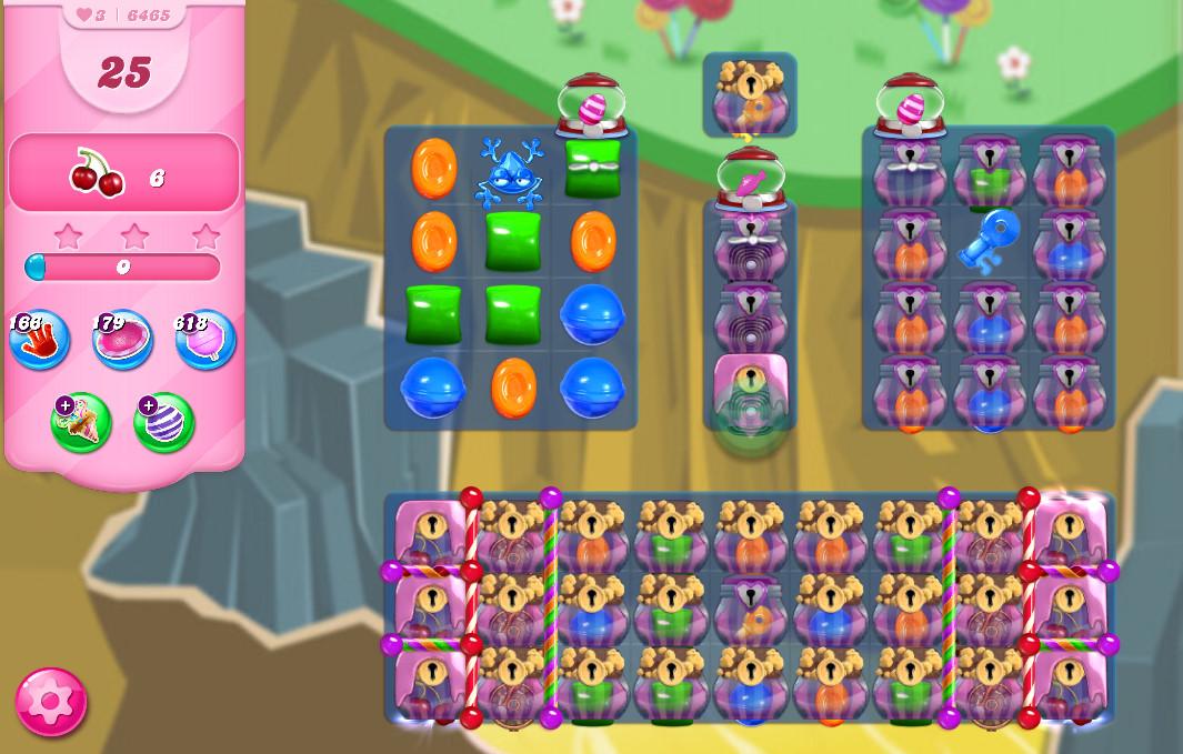 Candy Crush Saga level 6465