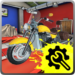 Motorcycle Mechanic Simulator Mod Money
