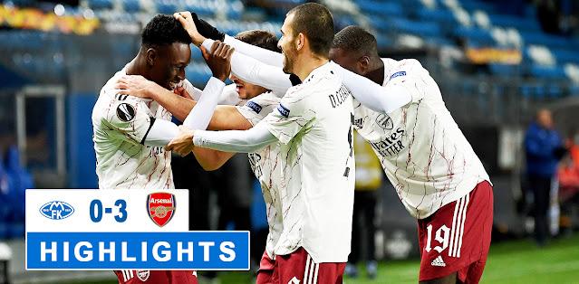 Molde vs Arsenal – Highlights