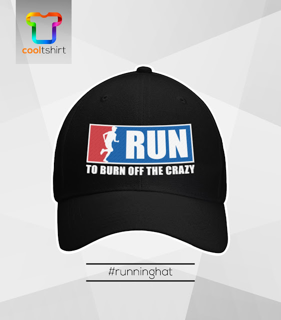 Run to burn off the crazy cool limited edition hat