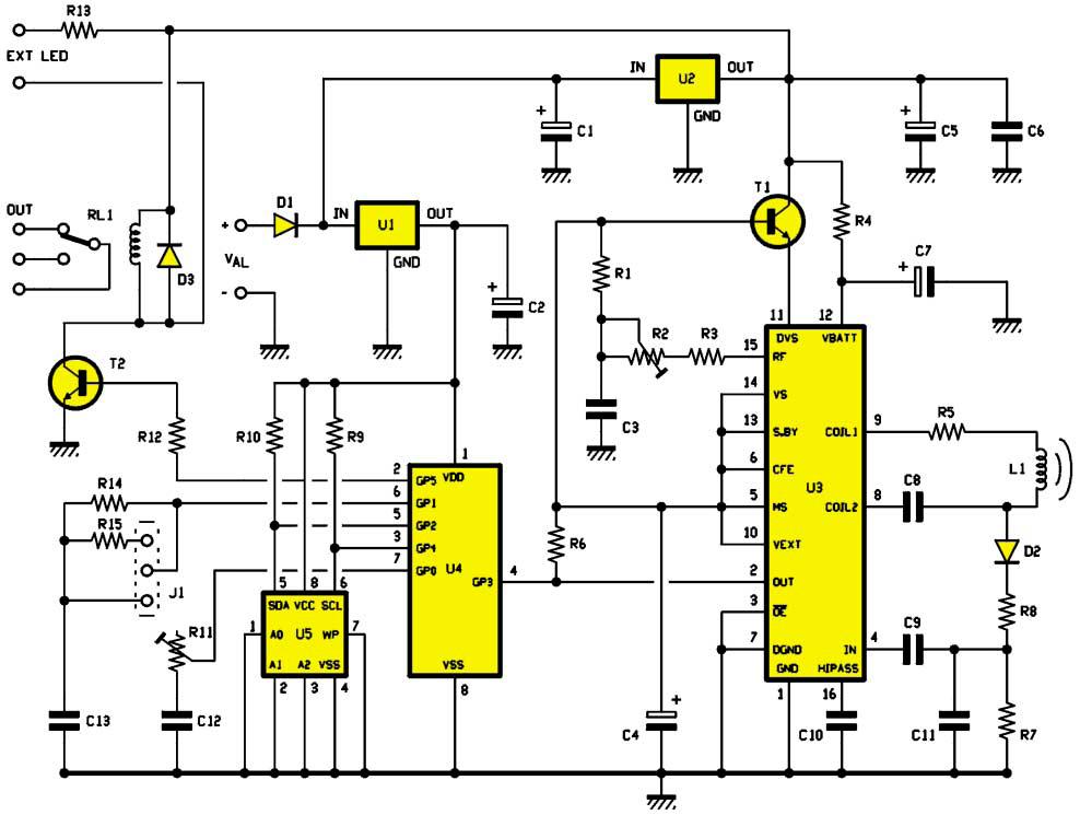 une serrure lectronique de s curit transpondeurs schema electronique net. Black Bedroom Furniture Sets. Home Design Ideas