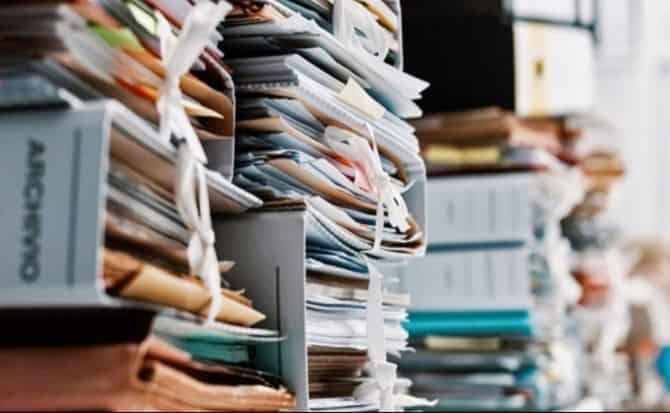 expedientes, documentos,