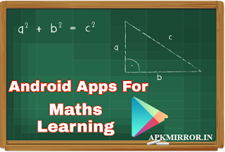 Android Apps For Maths Learning