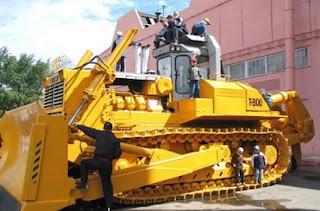 buldozer t800