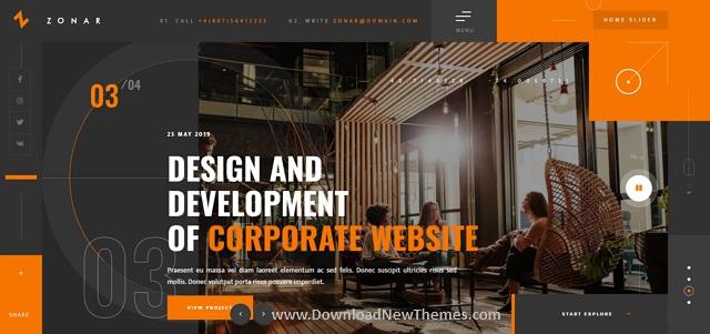 Creative Responsive Personal Agency Portfolio