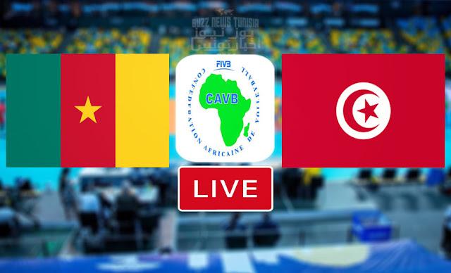 بث مباشر | مباراة المنتخب الوطني التونسي ومنتخب الكاميرون في نصف النهائي البطولة الافريقية للكرة الطائرة - Tunisie Flashscore Volleyball Finale Championnat d'Afrique