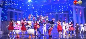 JMusic-Hits.com Kouhaku 2015 - Disney Mickey x Perfume x V6