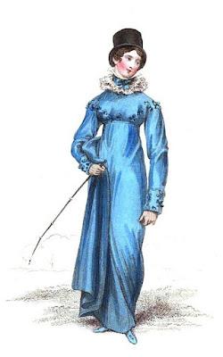 Riding habit from La Belle Assemblée (1816)