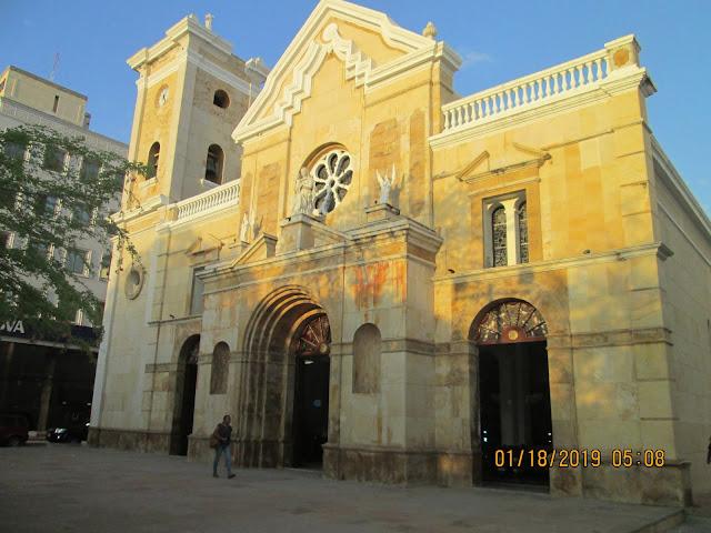 65 años del horrendo crimen de 'Meme' Gómez,  en Riohacha. Catedral Nuestra Señora de Los Remedios, de Riohacha